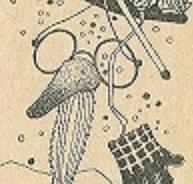 Снеговик в проулке / Der Schneemann auf der Straße