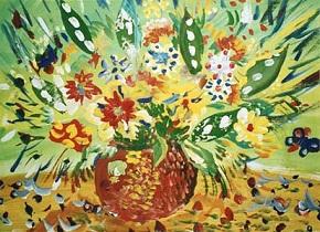 Весна-художник / Maler Frühling