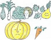 Бал овощей / Gemüseball