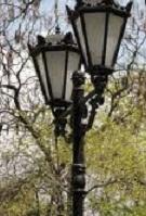 Старый газовый фонарь / Die alte Gaslaterne