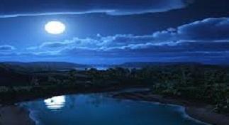 lustiger Mond