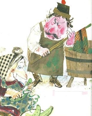 Hottentottich und seine Frau