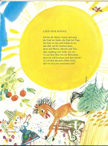 Lied der Sonne