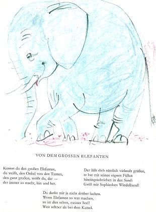 Von dem grossen Elefanten