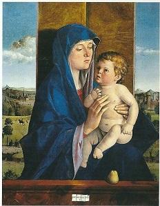 Madonna mit der Birne