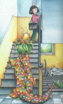 Die Treppe rauf