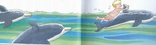 Mit den Delfinen