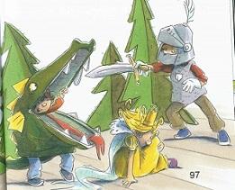 Mutiger Ritter