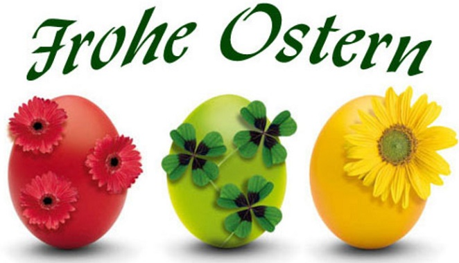 Frohe Ostertage!