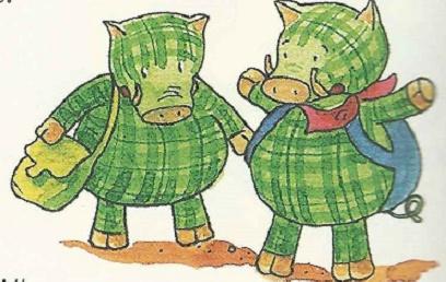 Zwei Warzenschweine