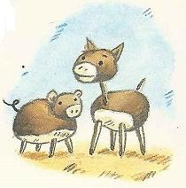 Tiere aus Kastanien