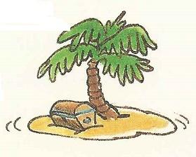 Eine Palme hat Platz