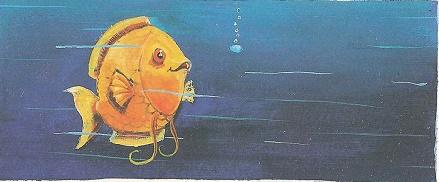 Schillernder Fisch