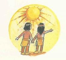 Die beiden kleinen Indianer