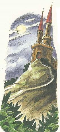 Schloss auf dem Berg