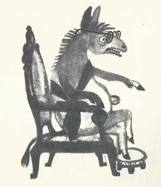 Der Esel als Praesident