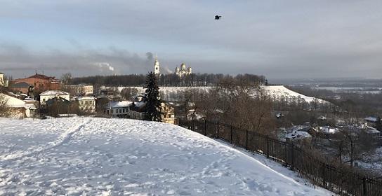 На высоком берегу Клязьмы