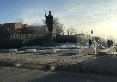 Памятник Князю Владимиру на Пятницкой горке