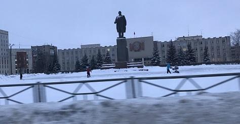 Как в прежних советских городах