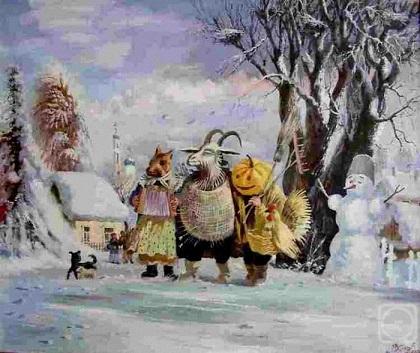 Андрей Липатов. Рождество